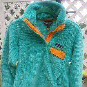 RARE COLOR Patagonia Re Tool Fleece Pullover Women